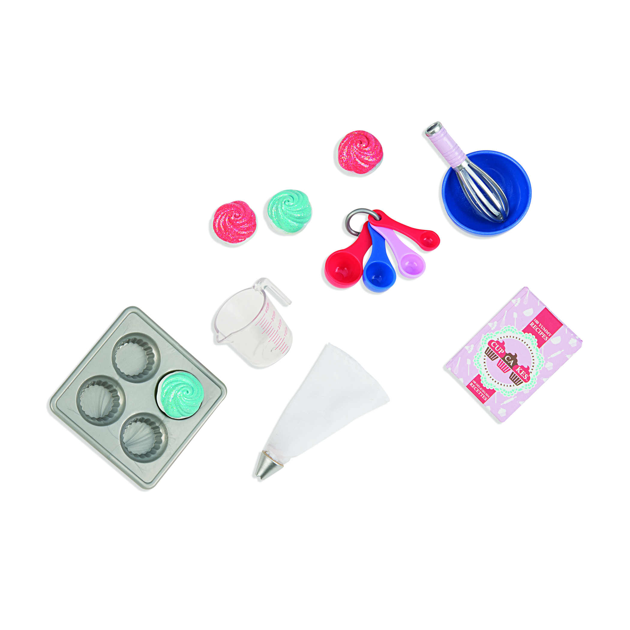Mini Retro accessories OG -Bake Me Cupcakes Kit