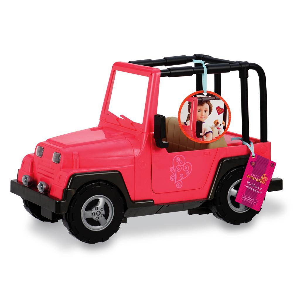 Jeep My Way and Highway 4x4 pour poupée OG de 46 cm