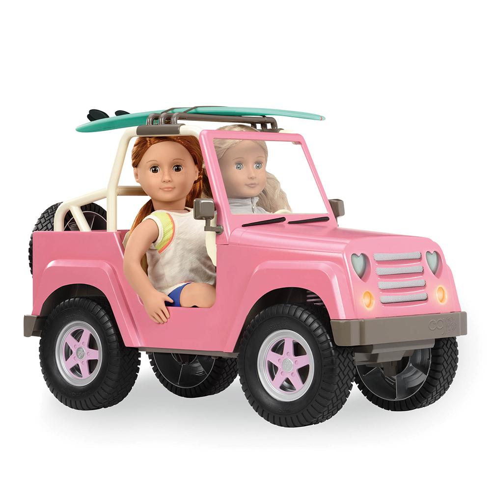 Jeep 4x4 OG Off Roader pour poupée 46 cm