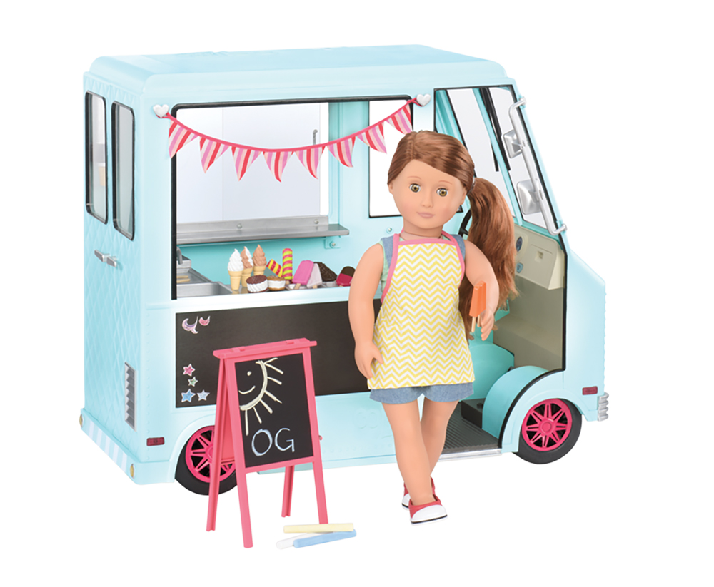 Accessories OG - Sweet Stop Playset for 18 Doll