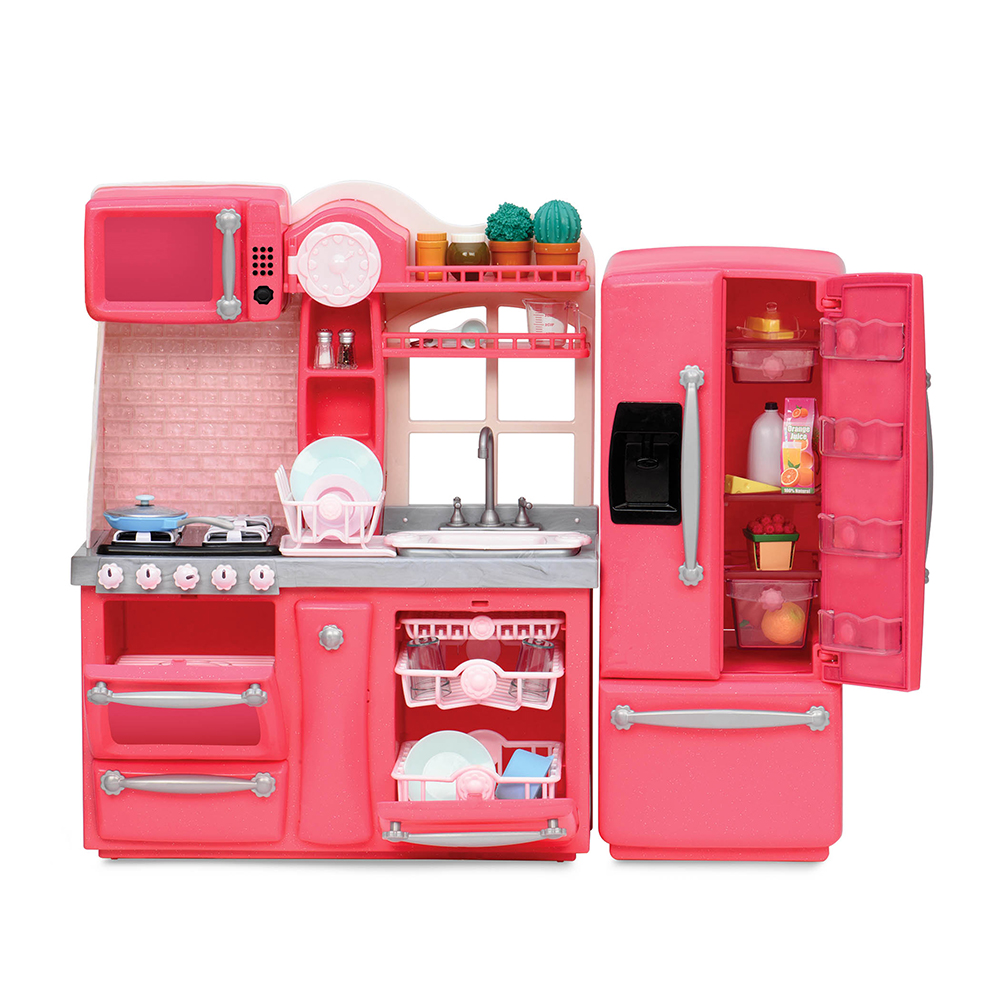 Set OG - Gourmet Kitchen for 18 Doll