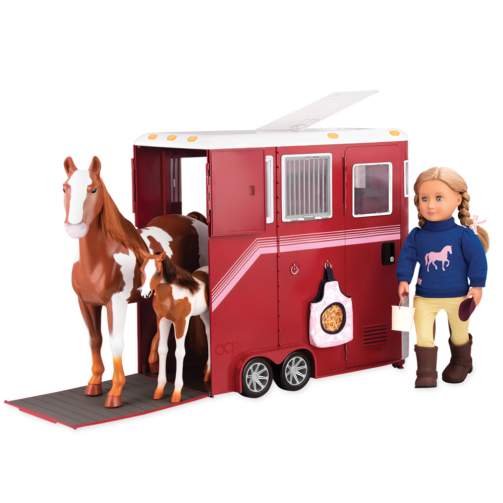 Set OG - Mane Attraction Horse Trailer for 18 Doll