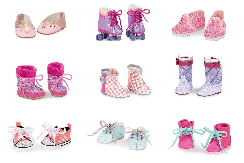 Chaussures assorties pour poupée OG de 46 cm