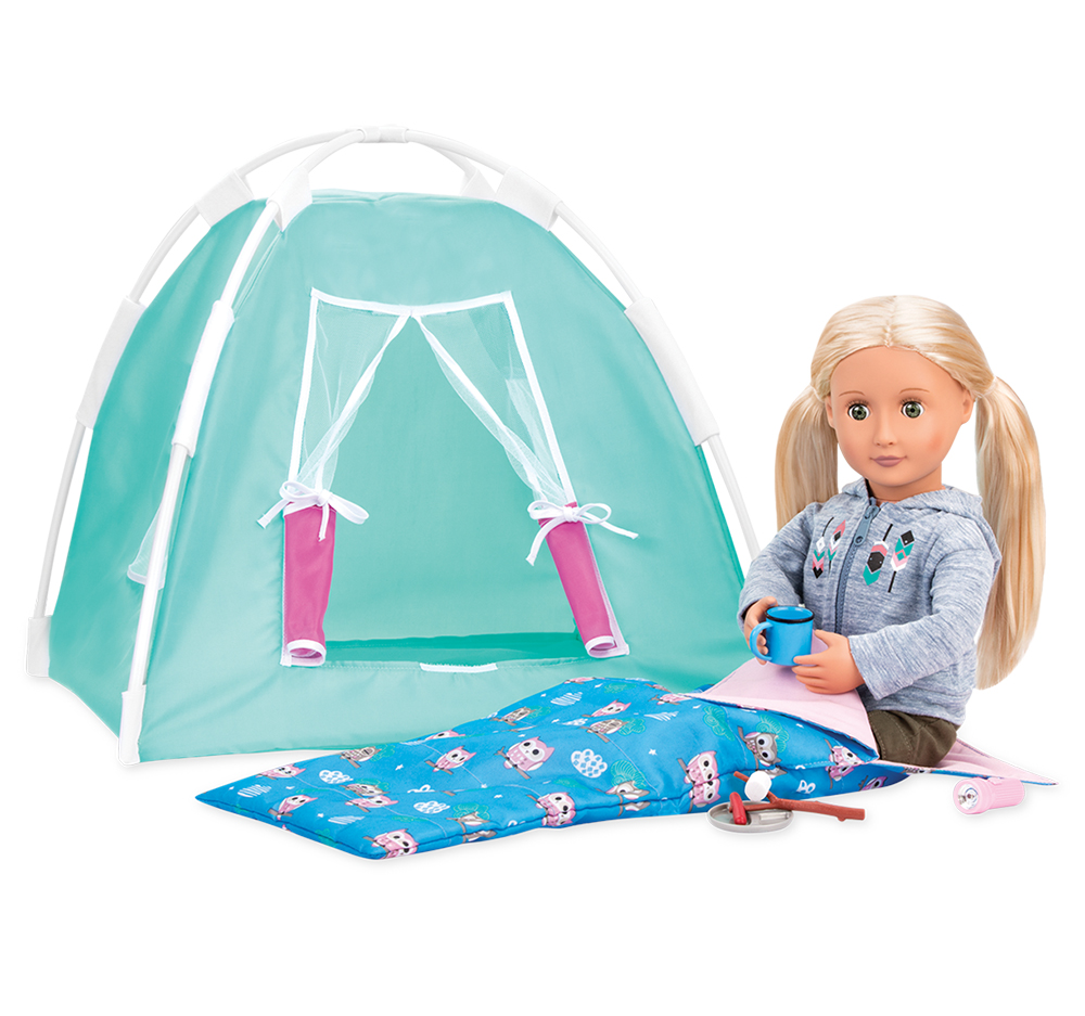Accessories OG - Happy Camper Set for 18 Doll
