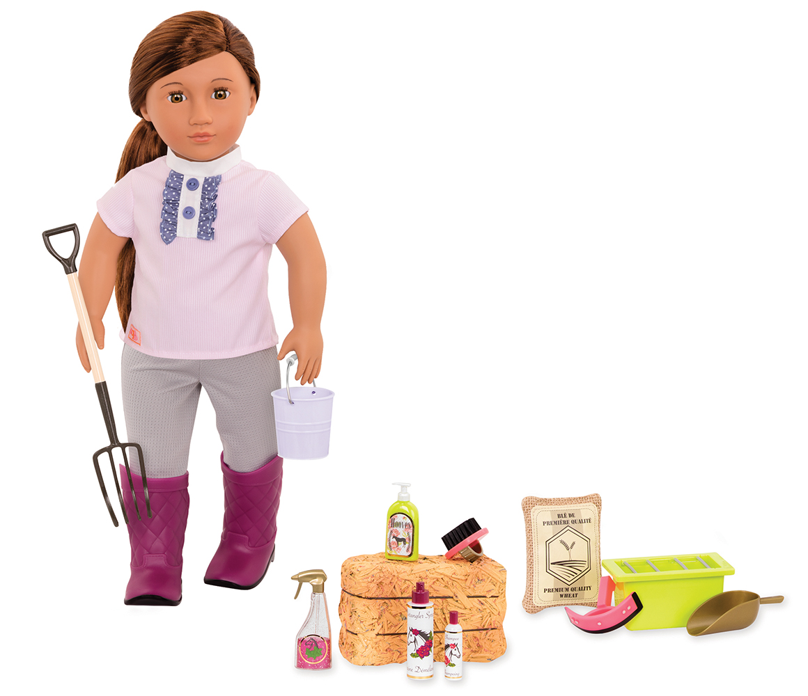 Accessories OG - Hay And Neigh Horse Care for 18 Doll