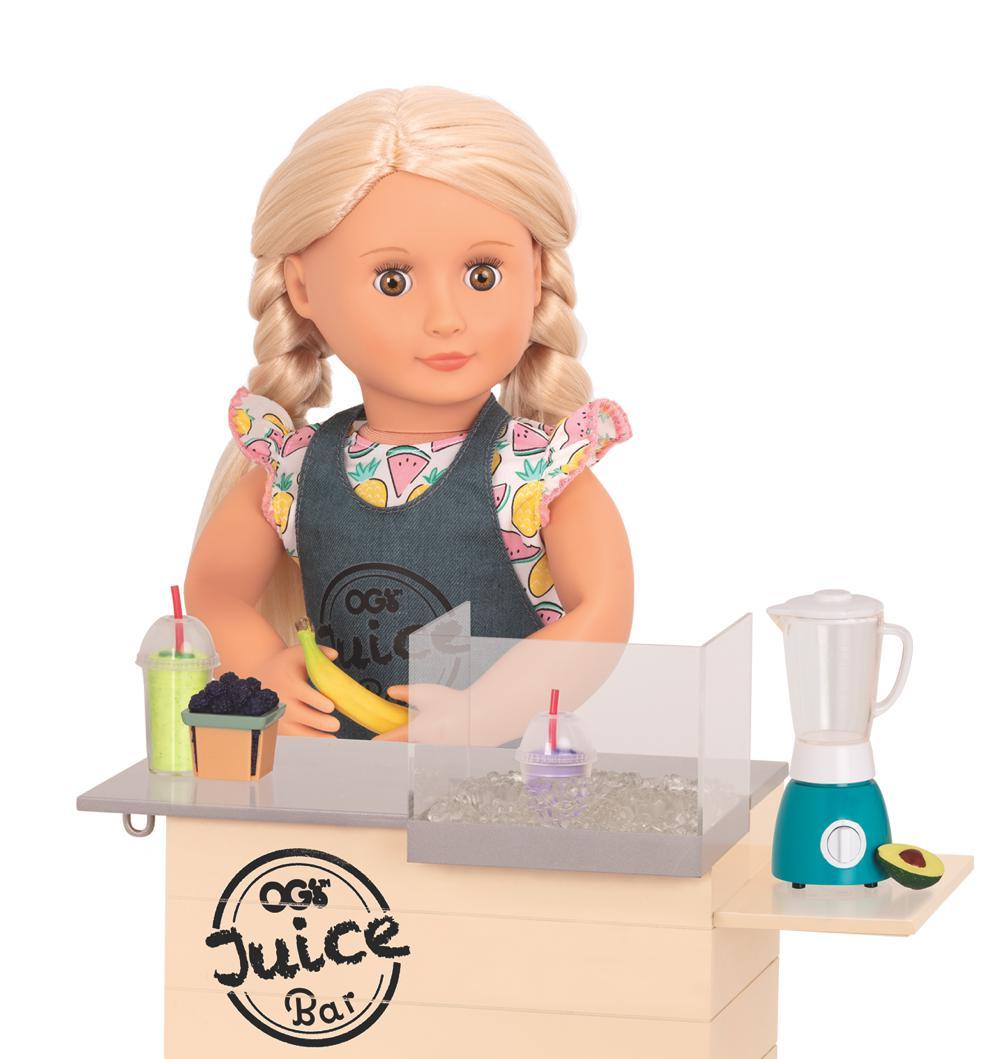 Accessories OG - OG Grill Juice Bar Set for 18'' Doll
