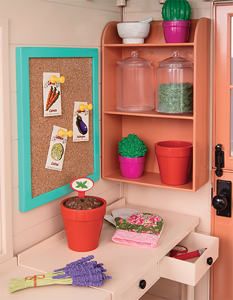 Deluxe Accessories OG - Room To Grow Greenhouse for 18 Doll