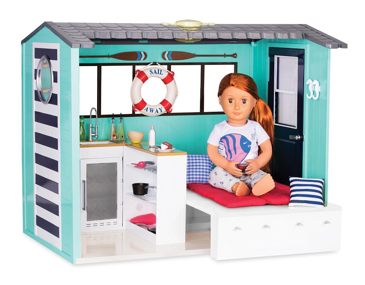 Set OG - Seaside Beach House for 18 Doll