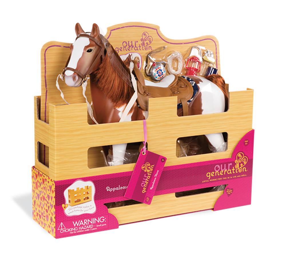 Horse OG - Appaloosa for 18 Doll