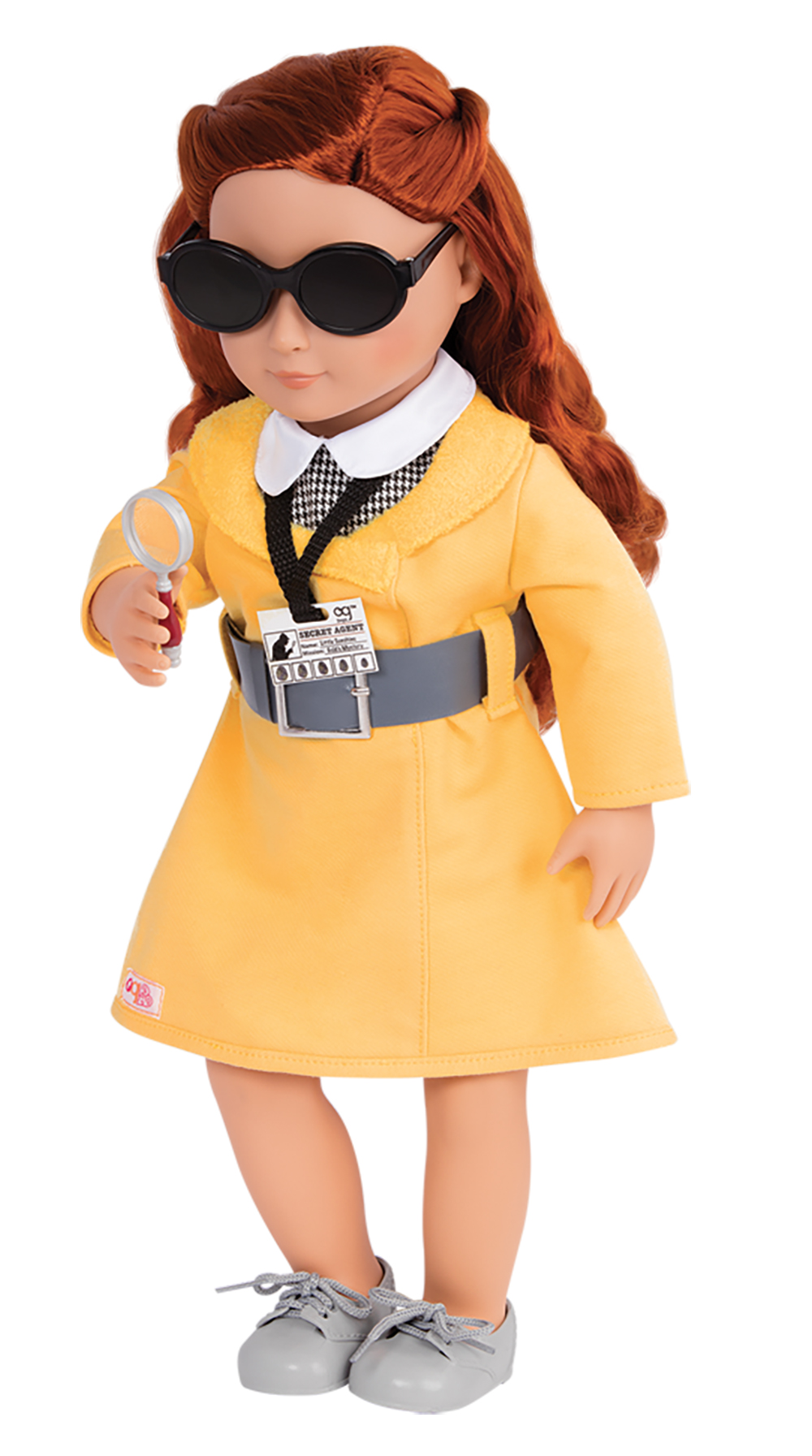 Deluxe Retro Outfit OG - Secret Agent Style for 18 Doll