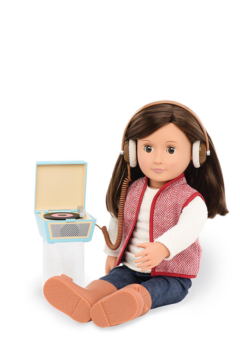Retro Accessories OG - Retro Records for 18 Doll