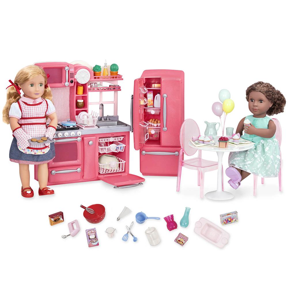 Set OG - Gourmet Kitchen for 18 Doll