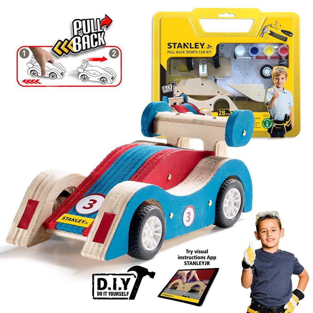 Stanley Jr. - Pull back Sports car kit