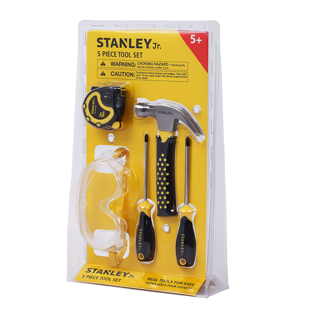 Stanley Jr. - 5 Piece Tool Set