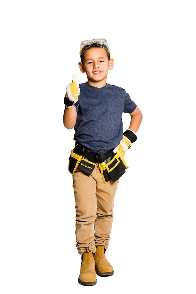 Stanley Jr. - Work Gloves 2 assorted colors