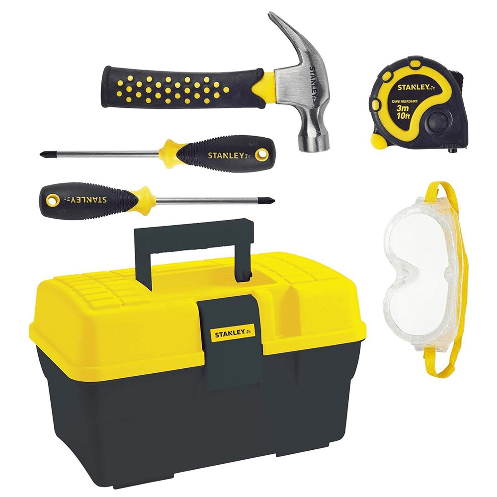 Stanley Jr. - 5 Piece Tool Set and Tool Box
