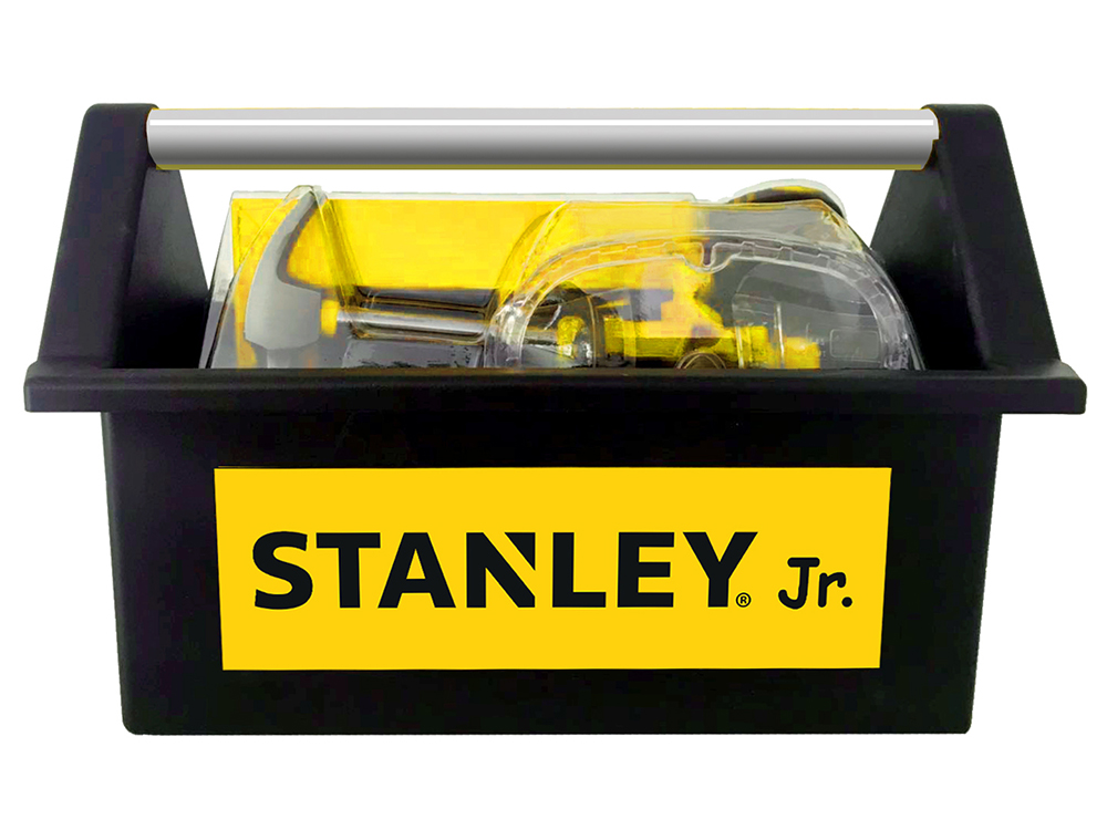 Stanley Jr. - Open Tool Box and 5 tools