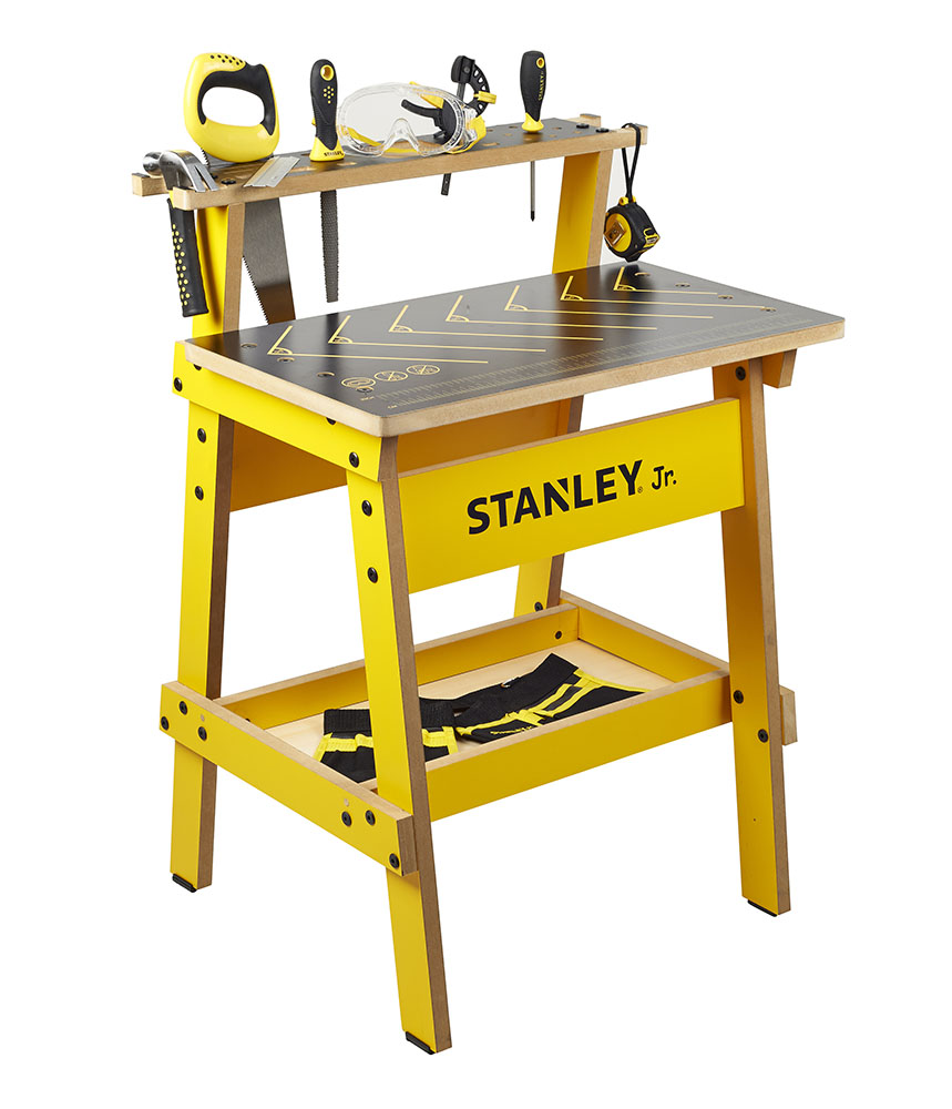 Stanley Jr. Kids' Work Bench with tools