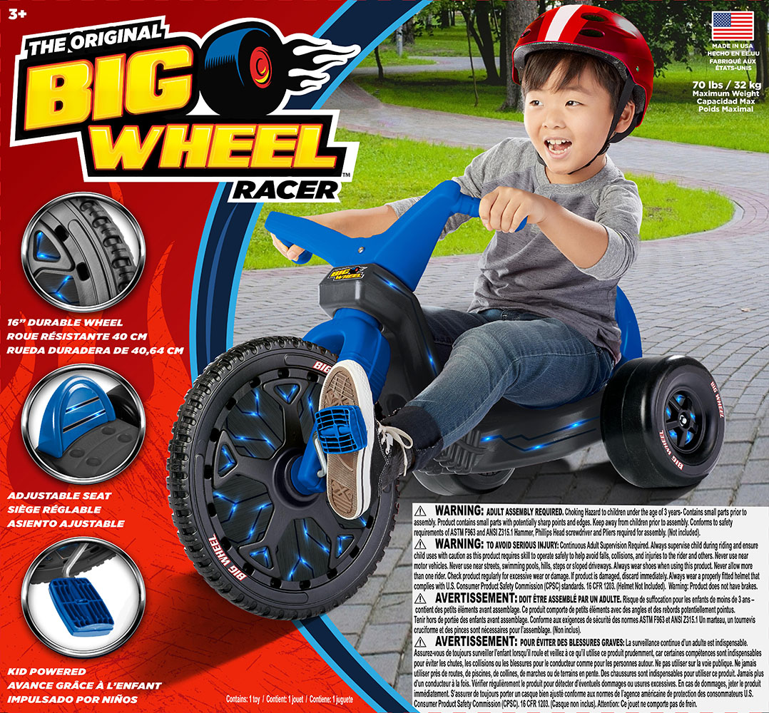The Original Big Wheel ™ Racer 16 Blue