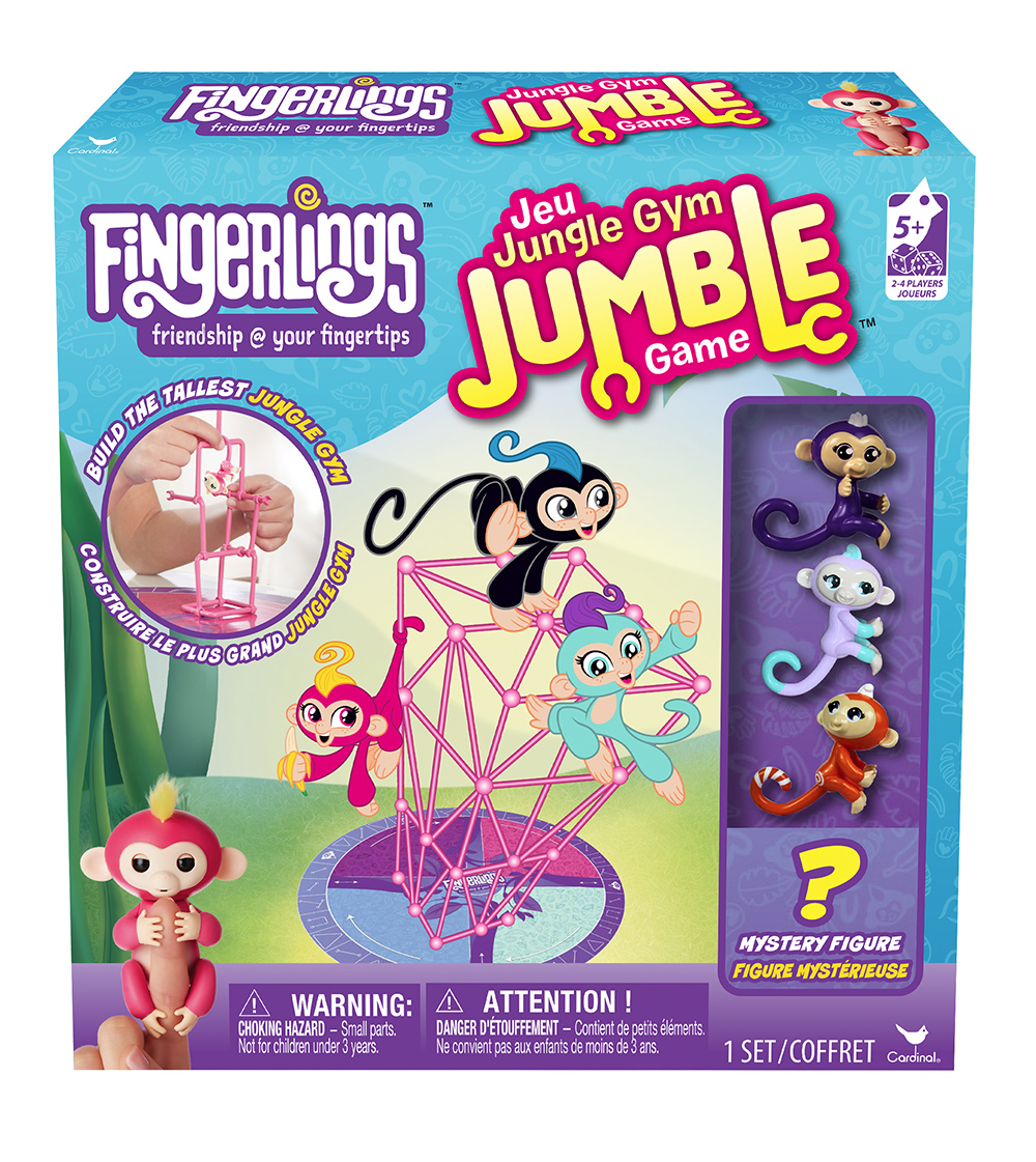 Fingerlings Jeu Jungle Gym Jumble