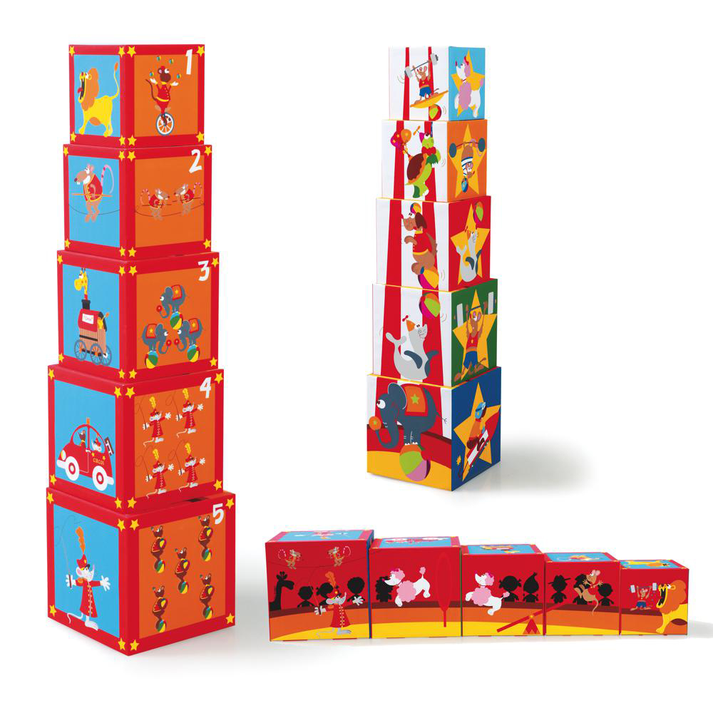 Stacking Tower Circus 5 pieces