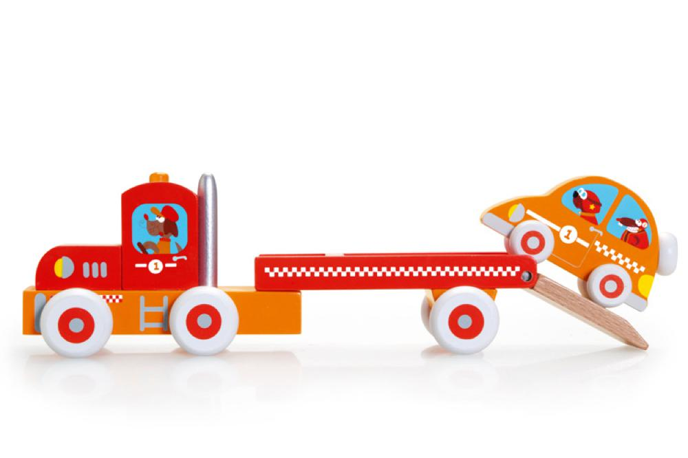 Scratch - Truck and racing car