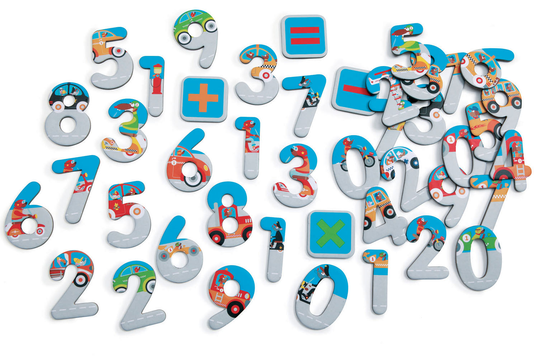 Scratch - Magnets 123 City