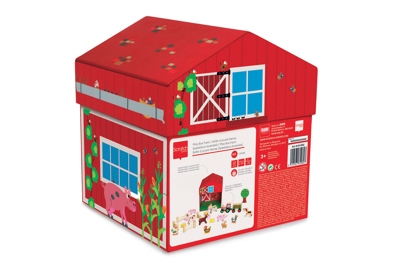 Boîte à jouets Ferme