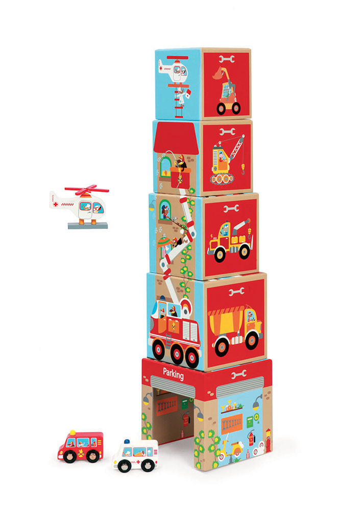 Scratch - Stacking Tower on the road
