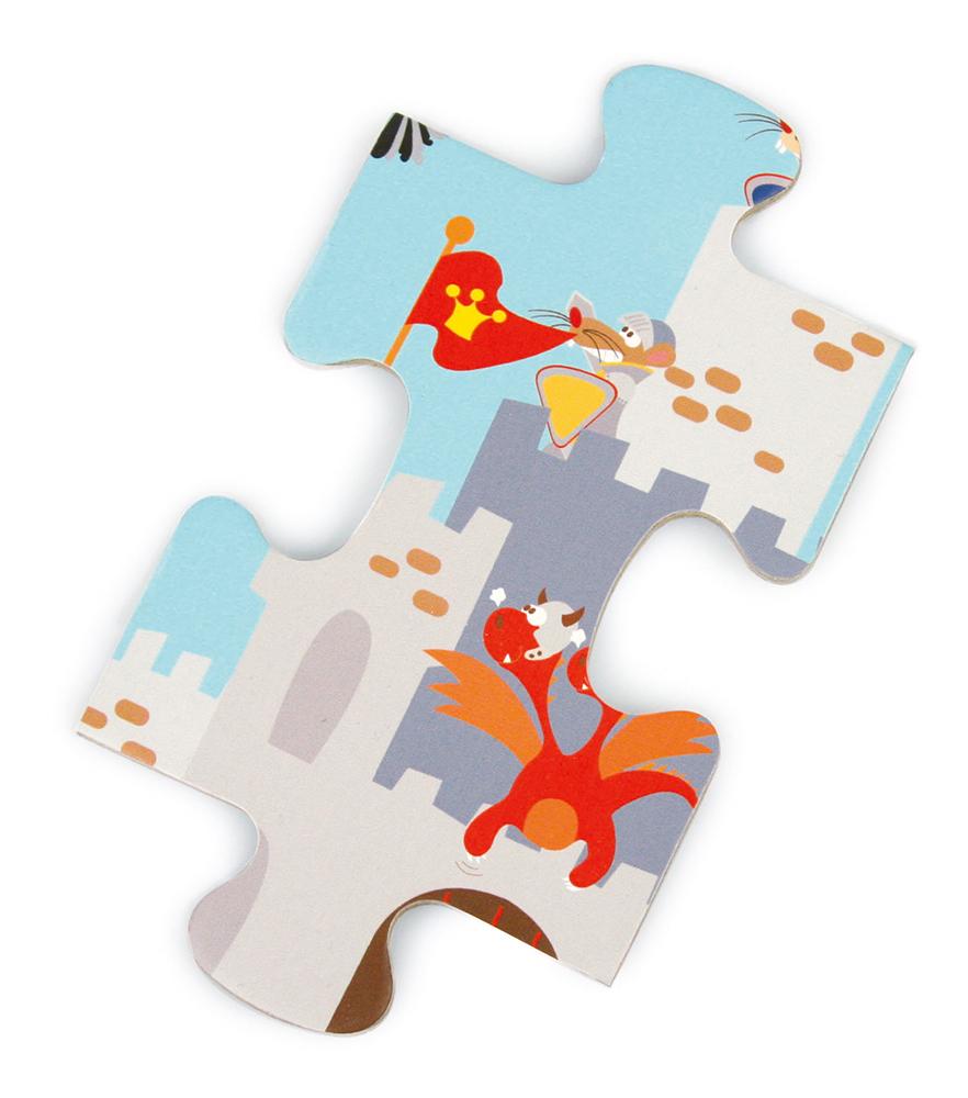 Puzzle Knight Battle 60 pieces