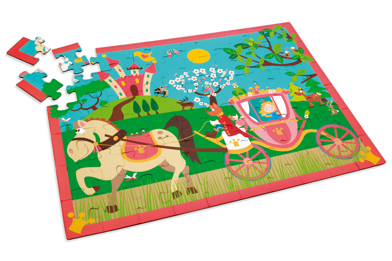 Puzzle Princess's Carriage 60 pieces