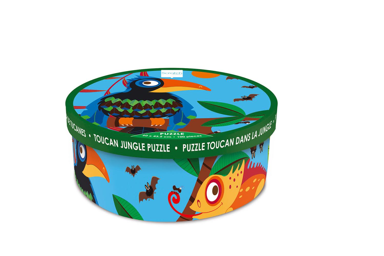 Puzzle Toucan Jungle 100 pieces