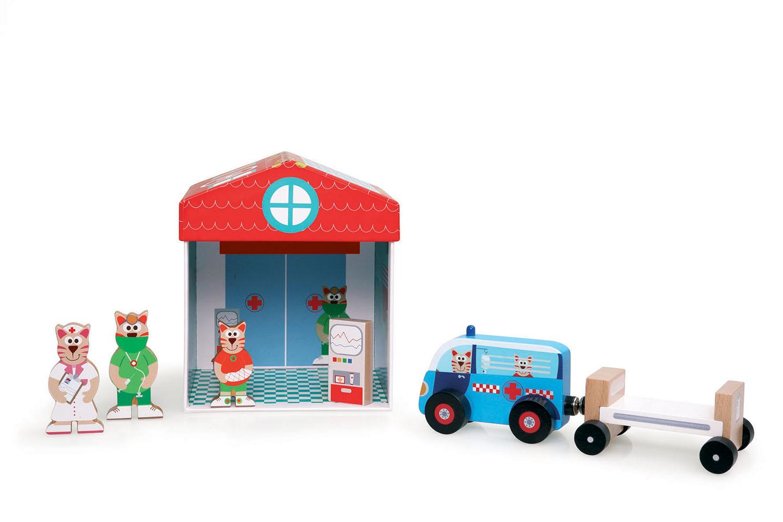 Boîte à jouets Hôpital