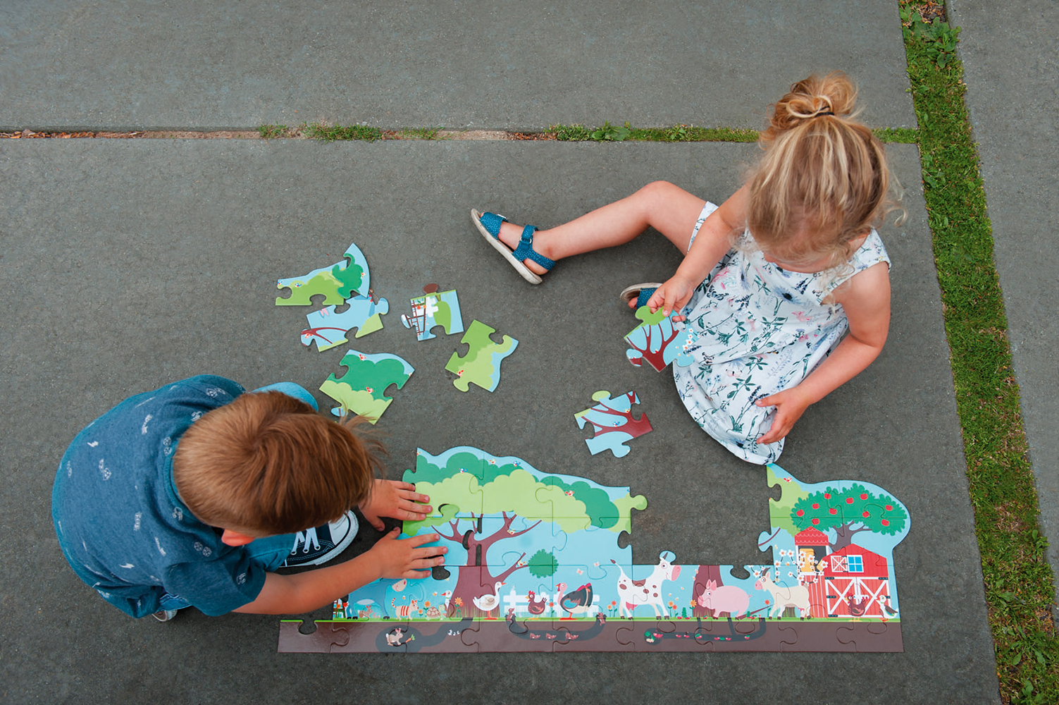 Floor Puzzle Farm 36 pieces