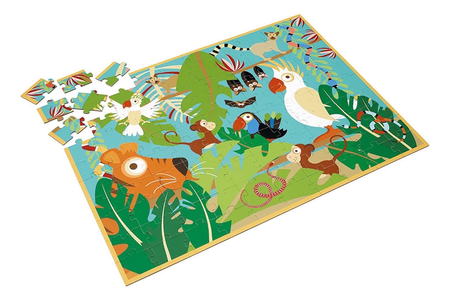 Scratch - Puzzle Parrot Jungle 100 pieces