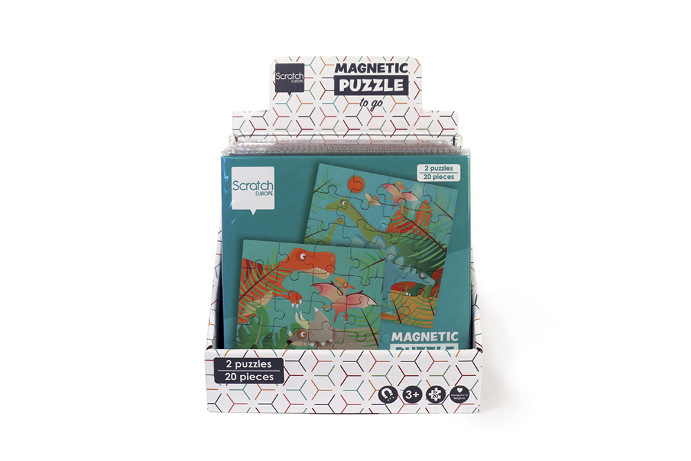 Scratch - Display for Magnetic Puzzle Books To Go