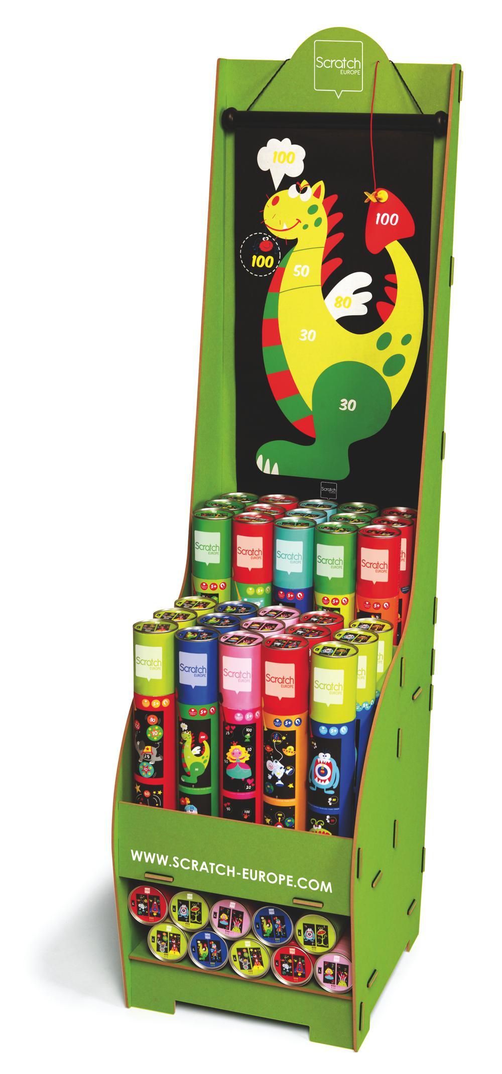 Magnetic Darts Game Display
