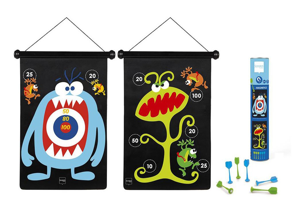 Magnetic Darts Monsters