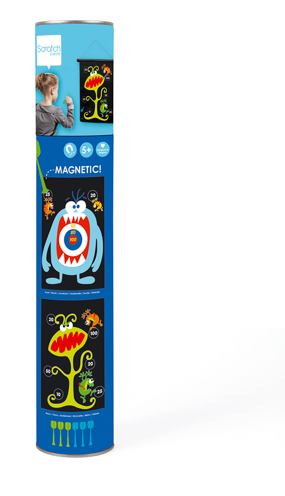 Double-sided Magnetic Darts Monsters