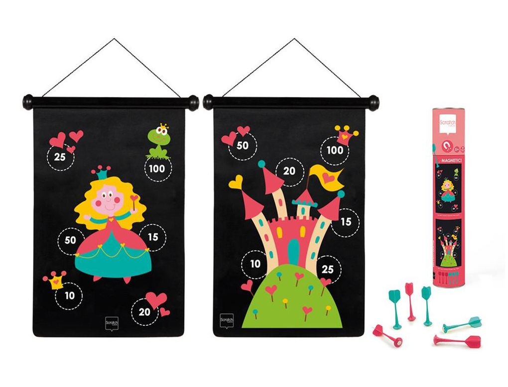 Double-sided Magnetic Darts Princess