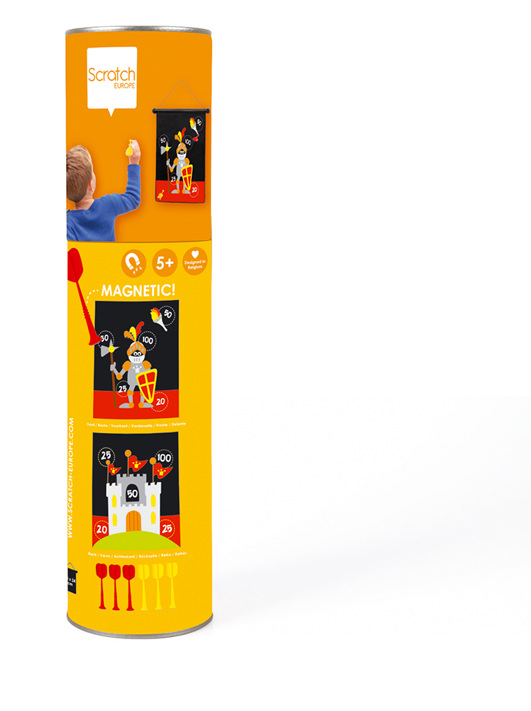 Double-sided Magnetic Darts small Knight