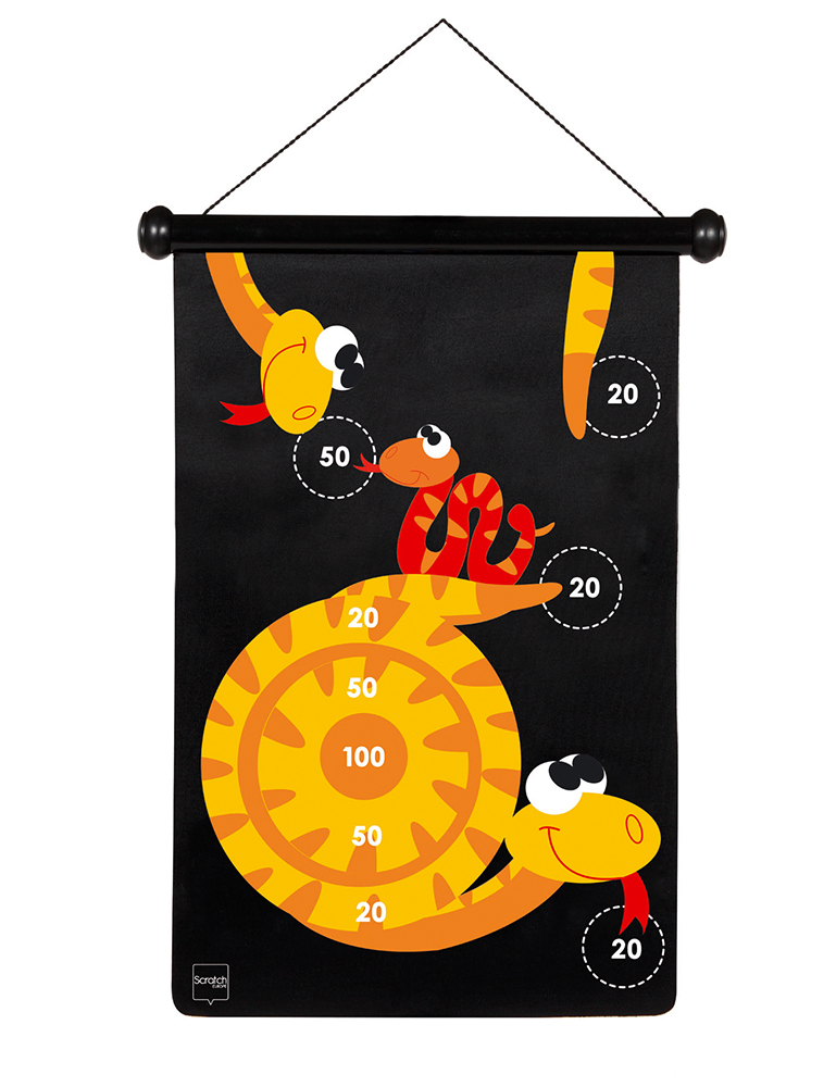 Double-sided Magnetic Darts Snakes