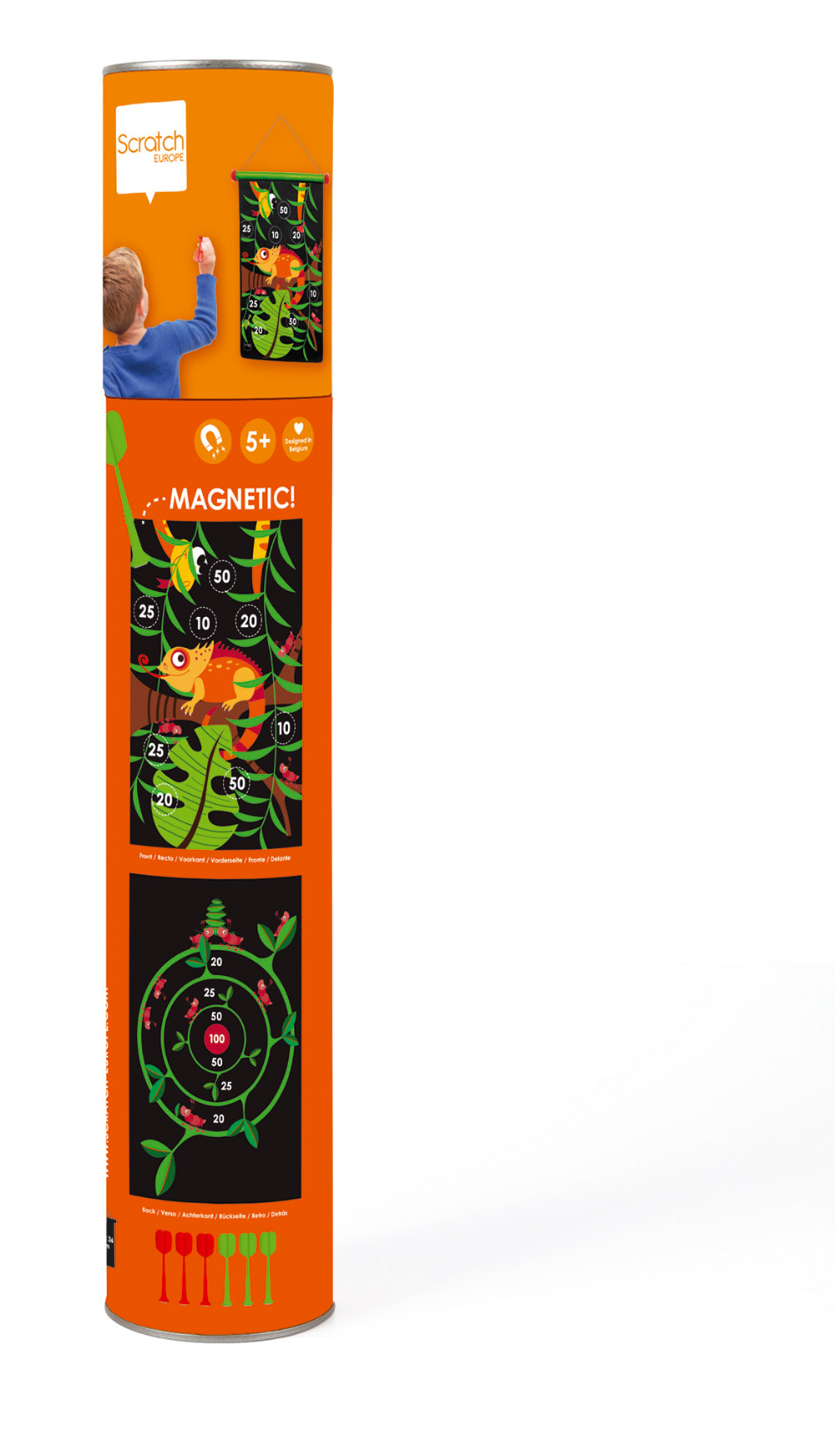 Double-sided Magnetic Darts Jungle
