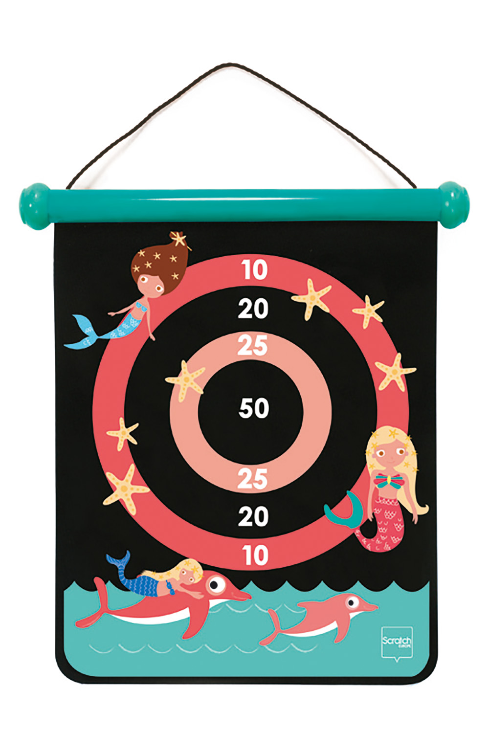 Double-sided Magnetic Darts Mermaid