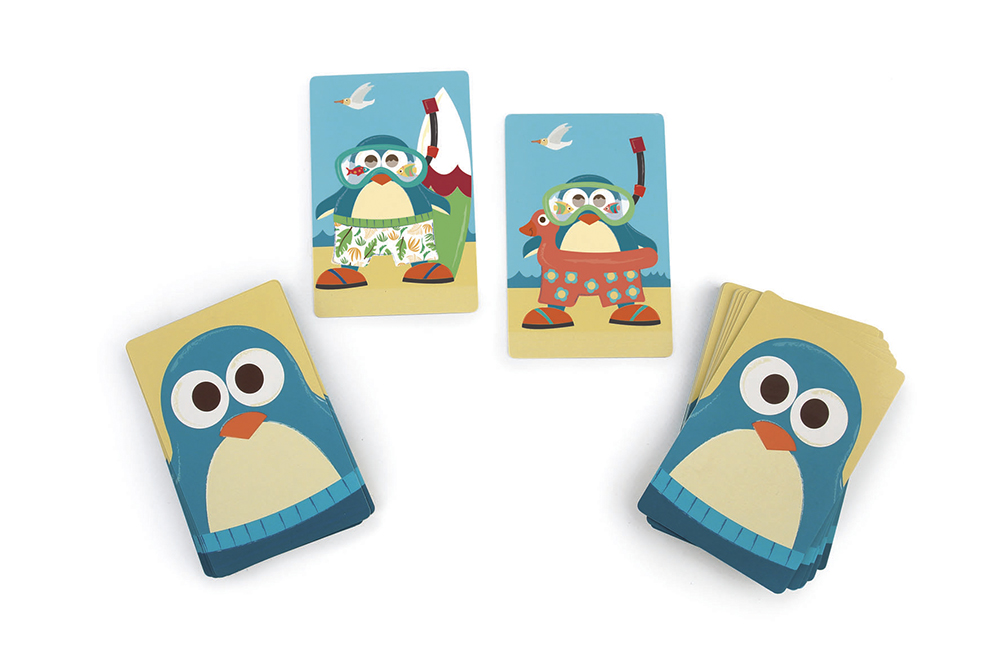 Scratch - Compact Game Penguin match