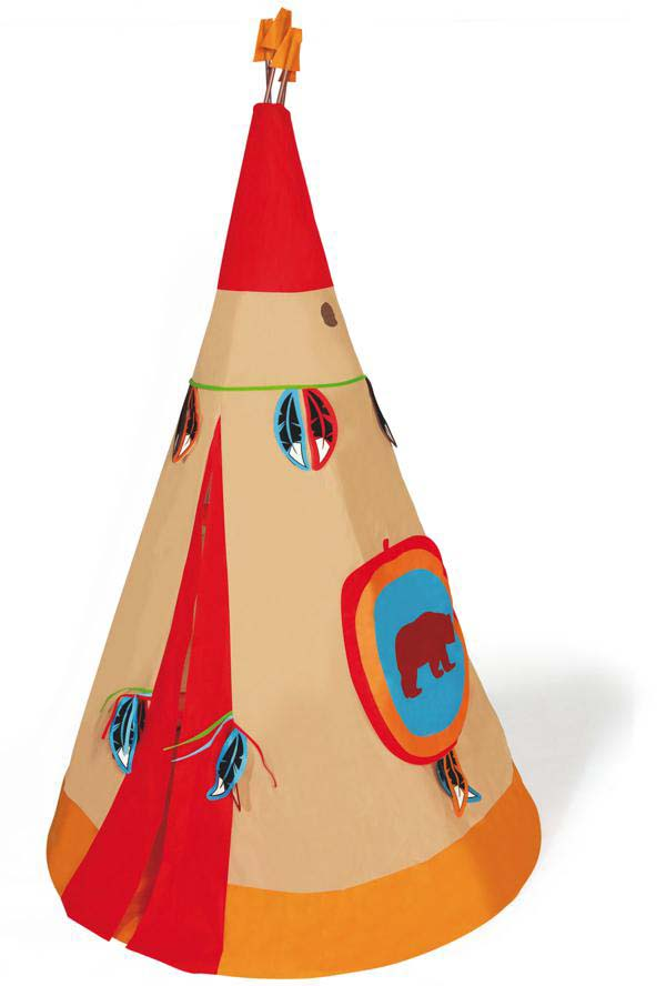 Indian Tent red