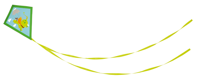 Cerf-volant assortis