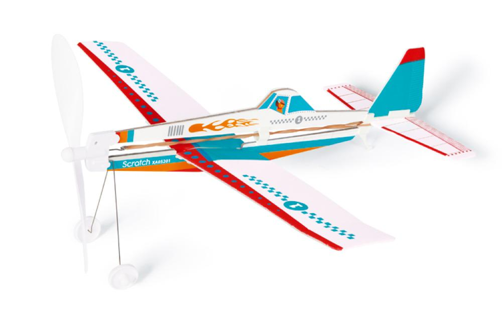 Wind-up foam Plane Acrobat Fire collection