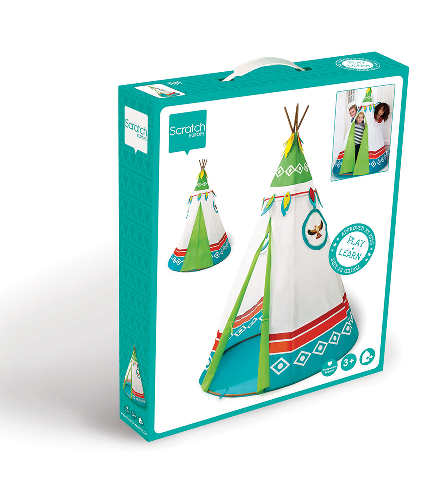 Indian tent blue