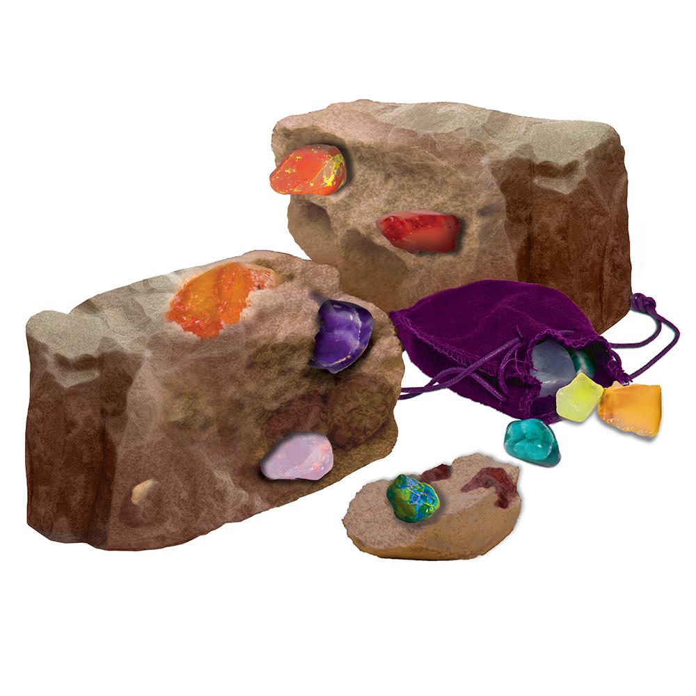 Wonderology-Gisement de cristaux